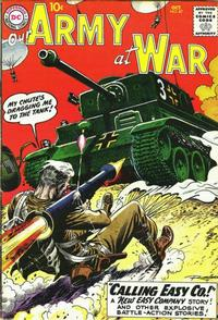 Cover Thumbnail for Our Army at War (DC, 1952 series) #87