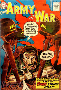 Cover Thumbnail for Our Army at War (DC, 1952 series) #90