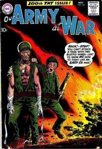 Cover Thumbnail for Our Army at War (DC, 1952 series) #100