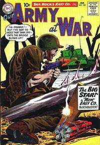 Cover Thumbnail for Our Army at War (DC, 1952 series) #102