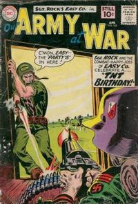 Cover Thumbnail for Our Army at War (DC, 1952 series) #105