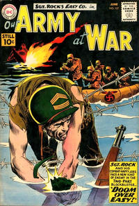 Cover Thumbnail for Our Army at War (DC, 1952 series) #107