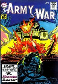 Cover Thumbnail for Our Army at War (DC, 1952 series) #108