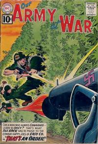 Cover Thumbnail for Our Army at War (DC, 1952 series) #110