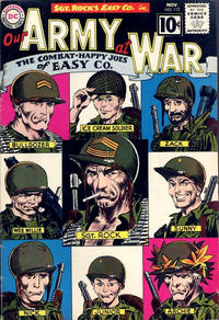 Cover Thumbnail for Our Army at War (DC, 1952 series) #112