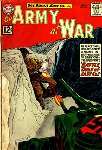 Cover Thumbnail for Our Army at War (DC, 1952 series) #120