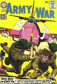Cover Thumbnail for Our Army at War (DC, 1952 series) #121