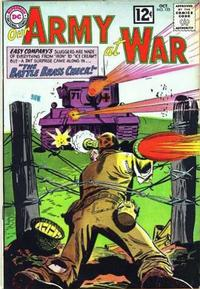 Cover Thumbnail for Our Army at War (DC, 1952 series) #123