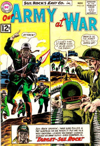 Cover Thumbnail for Our Army at War (DC, 1952 series) #124