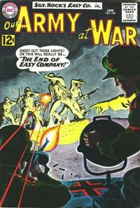 Cover Thumbnail for Our Army at War (DC, 1952 series) #126
