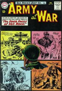 Cover Thumbnail for Our Army at War (DC, 1952 series) #127