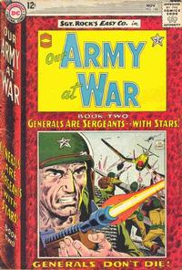 Cover Thumbnail for Our Army at War (DC, 1952 series) #148