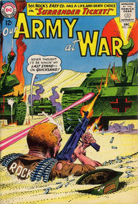 Cover Thumbnail for Our Army at War (DC, 1952 series) #149