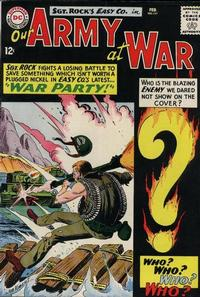 Cover Thumbnail for Our Army at War (DC, 1952 series) #151