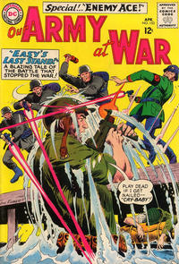 Cover Thumbnail for Our Army at War (DC, 1952 series) #153