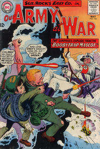 Cover Thumbnail for Our Army at War (DC, 1952 series) #154