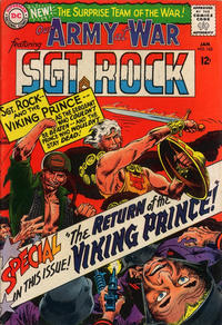 Cover Thumbnail for Our Army at War (DC, 1952 series) #162