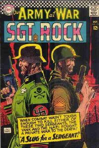 Cover Thumbnail for Our Army at War (DC, 1952 series) #172
