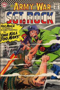 Cover Thumbnail for Our Army at War (DC, 1952 series) #174