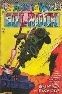 Cover Thumbnail for Our Army at War (DC, 1952 series) #182