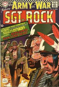 Cover Thumbnail for Our Army at War (DC, 1952 series) #183