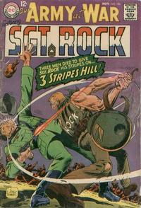 Cover Thumbnail for Our Army at War (DC, 1952 series) #186
