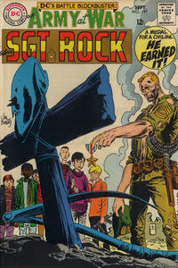 Cover Thumbnail for Our Army at War (DC, 1952 series) #197