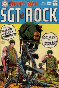 Cover Thumbnail for Our Army at War (DC, 1952 series) #202