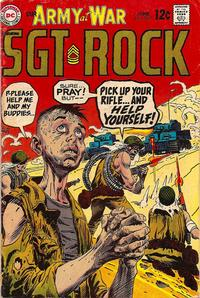 Cover Thumbnail for Our Army at War (DC, 1952 series) #207