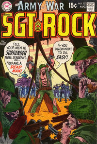 Cover Thumbnail for Our Army at War (DC, 1952 series) #222