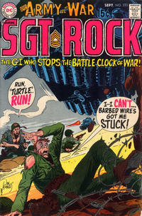 Cover Thumbnail for Our Army at War (DC, 1952 series) #223