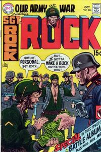 Cover Thumbnail for Our Army at War (DC, 1952 series) #224