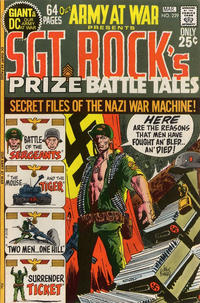 Cover Thumbnail for Our Army at War (DC, 1952 series) #229