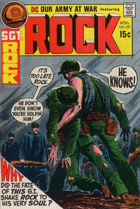 Cover Thumbnail for Our Army at War (DC, 1952 series) #231