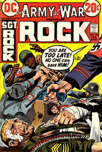 Cover Thumbnail for Our Army at War (DC, 1952 series) #254