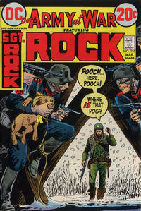 Cover Thumbnail for Our Army at War (DC, 1952 series) #255