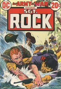 Cover Thumbnail for Our Army at War (DC, 1952 series) #258