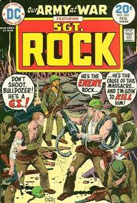 Cover Thumbnail for Our Army at War (DC, 1952 series) #265