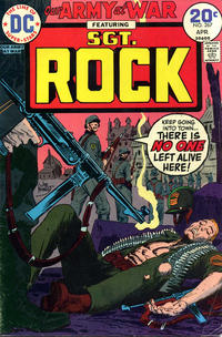 Cover Thumbnail for Our Army at War (DC, 1952 series) #267
