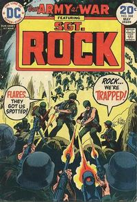 Cover Thumbnail for Our Army at War (DC, 1952 series) #268