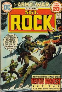 Cover Thumbnail for Our Army at War (DC, 1952 series) #271