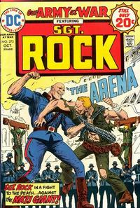 Cover for Our Army at War (DC, 1952 series) #273