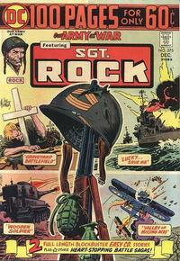 Cover Thumbnail for Our Army at War (DC, 1952 series) #275