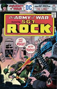 Cover Thumbnail for Our Army at War (DC, 1952 series) #289