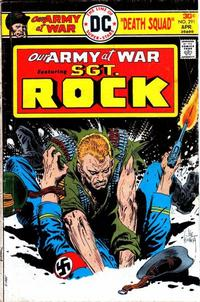 Cover Thumbnail for Our Army at War (DC, 1952 series) #291