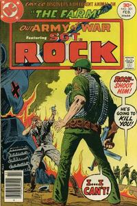 Cover Thumbnail for Our Army at War (DC, 1952 series) #301