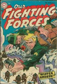 Cover Thumbnail for Our Fighting Forces (DC, 1954 series) #3