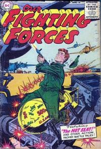 Cover Thumbnail for Our Fighting Forces (DC, 1954 series) #4