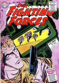 Cover Thumbnail for Our Fighting Forces (DC, 1954 series) #6