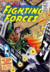 Cover Thumbnail for Our Fighting Forces (DC, 1954 series) #8